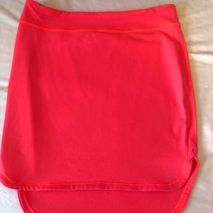 Lululemon plain cotton skirt size 8